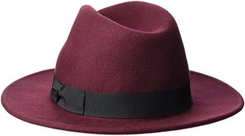 FORVERT Damen Dundee Hat, Burgundy, M