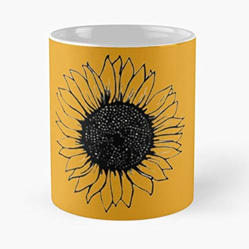 Tournesol Classic Mugh - Funny Gift Coffee Mug Tea Cup White 11 Oz The Best Gift For Holidays.
