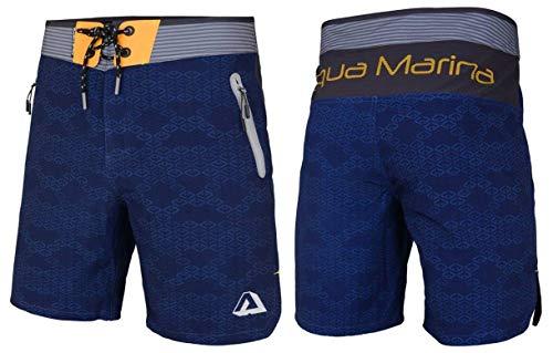 Aqua Marina Tahiti korte broek voor heren, boardshort wakeboard swimshort navy