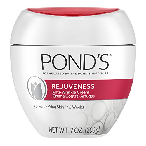 Pond's Skin Care Regimen Pack Anti-Aging Face Moisturizer, Eye Cream, and Face Serum Rejuveness With Vitamin B3 and Retinol Complex to Visibly Reduce Wrinkles and Signs of Aging 3 Pack