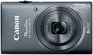 Canon PowerShot ELPH 130 IS 16.0 MP Digital Camera with 8x Optical Zoom 28mm Wide-Angle Lens and 720p HD Video Recording (...