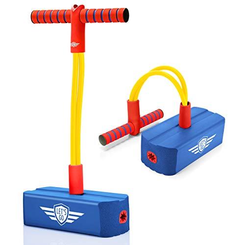 LetsGO toyz Spielzeug Jungen 3 4 5 6 7 8 9 10 11 12 Jahre, Foam Pogo Jumper Lustige Spiele Kinder ab 3-12 Jahren Geschenke für Mädchen 3-12 Jahre Spielzeug ab 3-12 Jahren für Mädchen Junge
