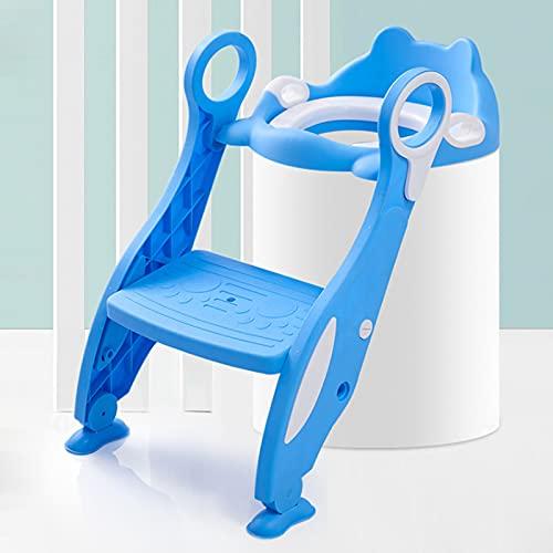Ayuda para Aprender a IR al baño con Escalera Antideslizante Adaptador WC...