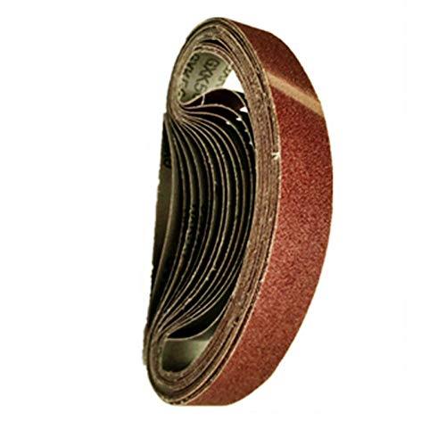 10 Uds 533 * 30mm cinta de lijado 40-1000 banda abrasiva lijadora cinta lijadora papel de pulido, 320