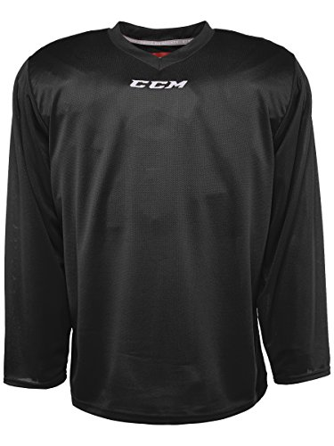 CCM 5000 Series Hockey Practice Jersey - Senior - Black, X-Large