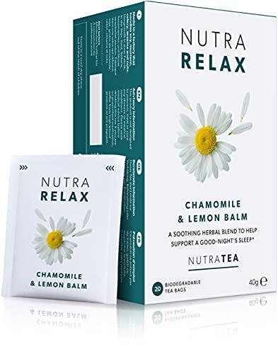 NUTRARELAX - Night Time Tea | Sleep Tea | Calm Tea - Includes Chamomile,...