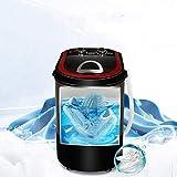 LYYAN Pequeño Ahorro de Energia Lavadora Automática de Zapatos Mini Lavadora Portátil Perezosa de Gran Capacidad 3 kg Limpieza Profunda Eliminación de Olores Adecuada para Ayudante Lavandería