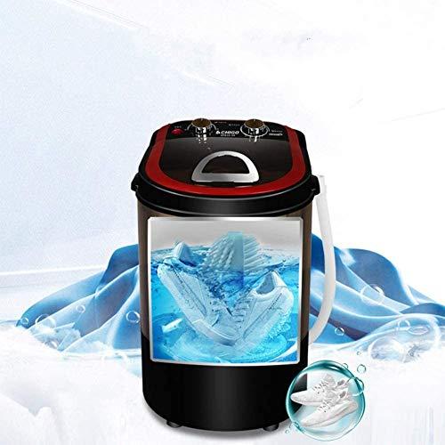 Viaje Ahorro de Energia Lavadora Automática de Zapatos Mini Lavadora Portátil Perezosa de Gran Capacidad 3 kg Limpieza Profunda Eliminación de Olores Adecuada para Plegable