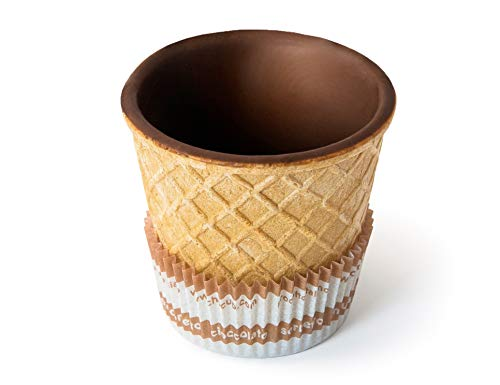 Bicchierini in wafer e cioccolato fondente Chocup medium 60ml 12pz