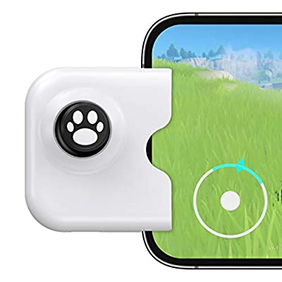 IFYOO Yao L1 PRO Mobile Game Controller Joystick for iPhone (iOS 13.4 or Later, For iOS Mobile Games), Gaming Gamepad Compatible with PUBGG Mobile, Call of Duty Mobile(CODM), Wild Rift, Genshin Impact from IFYOO