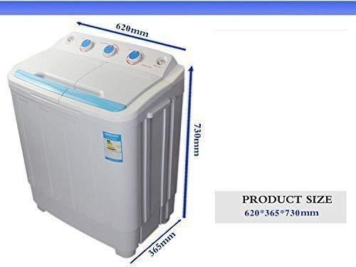 Streetwize LWACC169 Portawash Twin Tub Washing Machine 2.5kg Capacity 230W