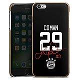 DeinDesign Holz Hülle kompatibel mit Apple iPhone 6s Plus Holz Schutzhülle Echtholz Handyhülle Coman #29 FC Bayern München Trikot