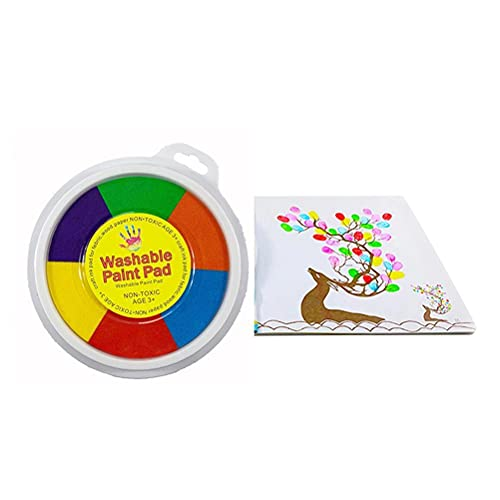 Kit per dipingere con le dita per bambini, Kit per dipingere con le dita divertenti Giocattoli per disegnare con le dita, Set di colori per 12 colori