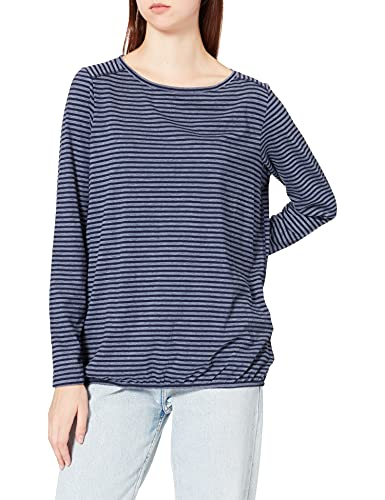 Cecil Damen 316947 T-Shirt, deep Blue, XXL