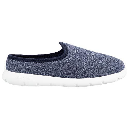 ISOTONER Zenz Men's Transition Slip-On Shoe, Navy Blue, 11