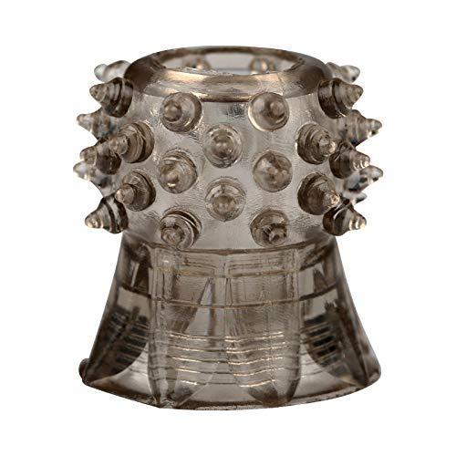 Anillo de silicona para hombre con forma de anillo de masaje