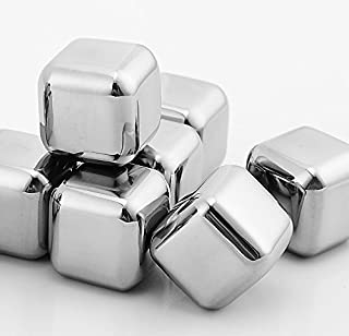 Stainless steel reusable ice cubes chilling stones for whiskey-1.0