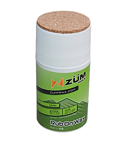 ZUMWax Rub On Wax for Snowboards