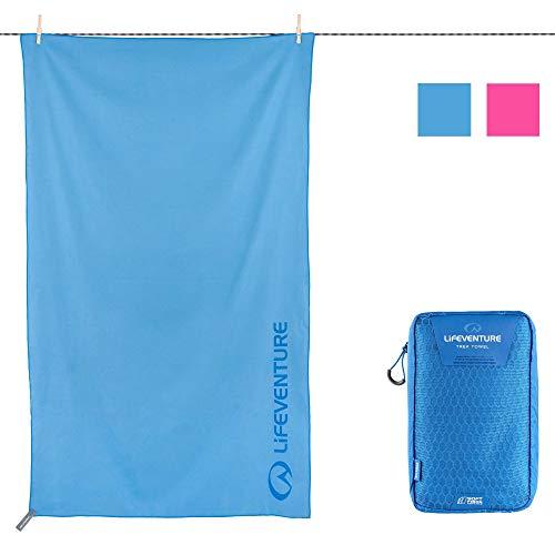 Lifeventure 63051 SoftFibre Advance Trek Towel - Giant (Blue) Unisex-Adult