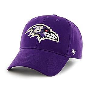NFL Baltimore Ravens Basic MVP Adjustable Hat, Toddler, Purple