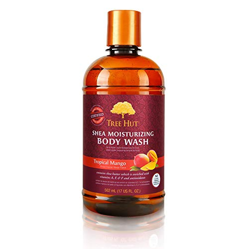 Tree Hut Shea Moisturizing Body Wash, Tropical Mango, 17 Fluid Ounce by Tree Hut