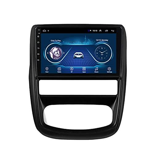 Gndy Coche navegación System 9' Android 9.1 Car GPS Navegación Reproductor de para Renault Duster 2010-2014   Pantalla LCD Táctil   USB   WLAN,2G+32G-Quad-Core