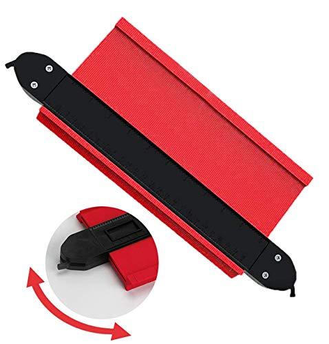 セルフロック式 型取りゲージ 250mm 幅広タイプ(13cm幅) 測定ゲージ 測定工具 曲線定規 不規則な測定器 ABSプラスチック製