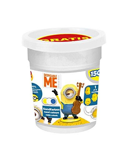 Craze 58641 - Magic Sand Minions Refill Can, ca. 150 g, Sortiert