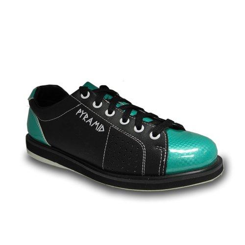 Pyramid Womens Path Bowling Shoe (Black/Teal, Size 8)