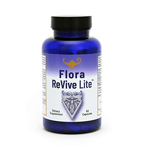 Flora Revive LITE Daily SBO Probiotic a Soil Based Shelf Stable Probiotic. Complete Gut Health. from Dr. Carolyn Dean
