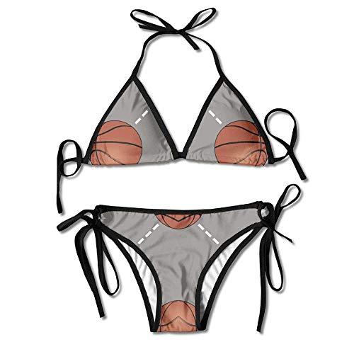 Basketball Court Women Sexy Bikini Set Swimsuit Bathing Suit