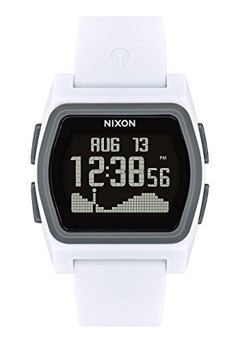 Nixon Mens Digital Watch with Silicone Strap A1236-2015-00