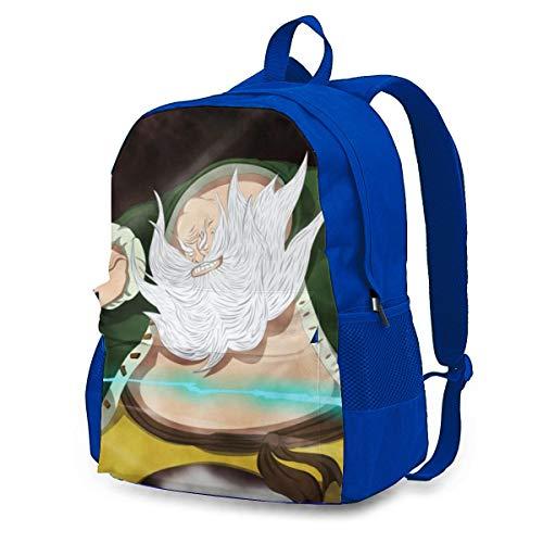 One Piece Chinjao Zaino per adulti, colorato, leggero, con stampa, durevole, grande capacità, da viaggio