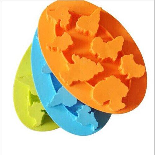 GCSEY 2020 Hohe Qulity Kontinente Mold-Silikon-EIS-Würfel-Werkzeuge EIS-EIS-Form-Kuchen-Form Kochen Werkzeuge Qualitäts-3 PC