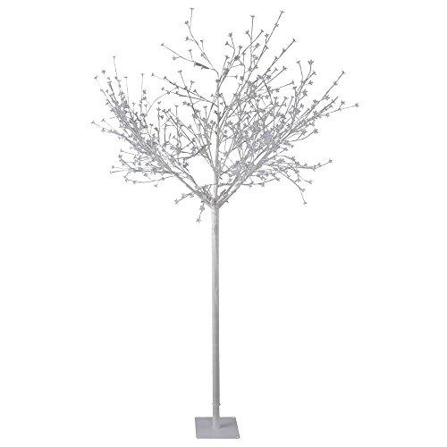Luxus 600x LED's Outdoor Baum Steh Leuchte XMAS Weihnachts Beleuchtung weiß IP44 Leuchtbaum Leuchten Direkt 86130-16
