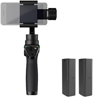 DJI OSMO MOBILE Renewed Handheld Stabilized Camera Gimbal (Renewed)