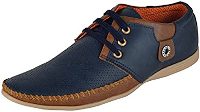 Shoes Bank Men's Leather Casual Shoes
