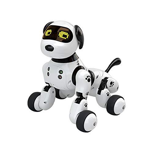 Baoniansoo Cane Robot Intelligente, Giocattolo elettronico elettronico parlante interattivo ligente Wireless telecomandato Hi-Tech Multifunzione, per Bambini Ragazzi Ragazze età 6-10 Anni