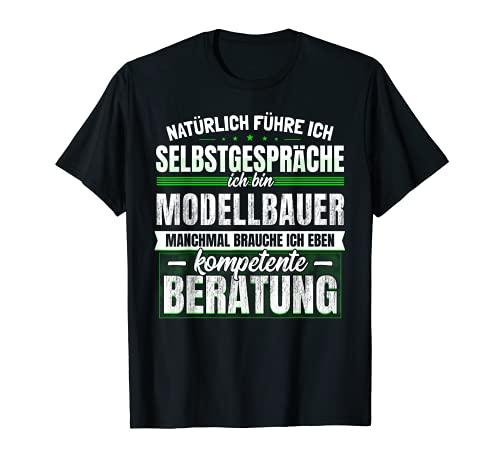 Geschenk Modellbauer Lustiges Modellbau Beruf T-Shirt