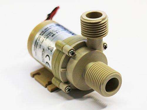 Lebensmittelechte Mini-Kreiselpumpe mit bürstenlosem Gleichstrommotor, Gehäuse:C01VP, 24VDC, 10,5l/min oder 5mWs