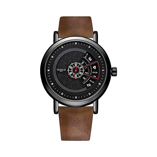 Armbanduhr,Koreanische Version des Plattenspielers wasserdichte Uhr Vibrierende Kreative Quarzuhr, C