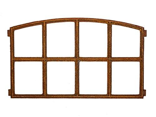 Stallfenster Eisenfenster Scheunenfenster Eisen Fenster 78x47cm im Antik-Stil