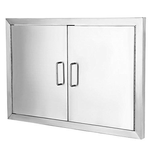 VEVOR Flush Access Door 304 Stainless Steel BBQ Doors 19