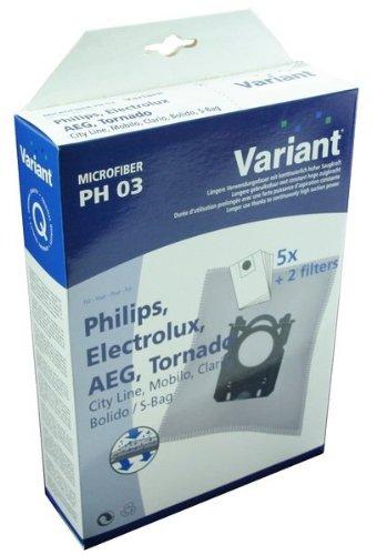 Variant 3364016360 5 PH03 Microvlies Staubsaugerbeutel mit Microfilter