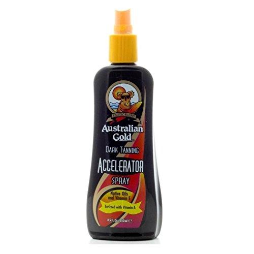 Australian Gold - Dark Tanning Accelerator Spray Acceleratore Abbronzatura (250ml)
