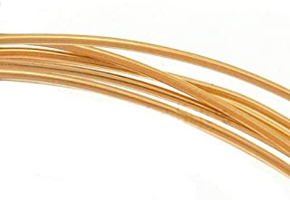 Beadaholique 14K Gold Filled Wire 22 Gauge Round Half Hard (5 Feet)