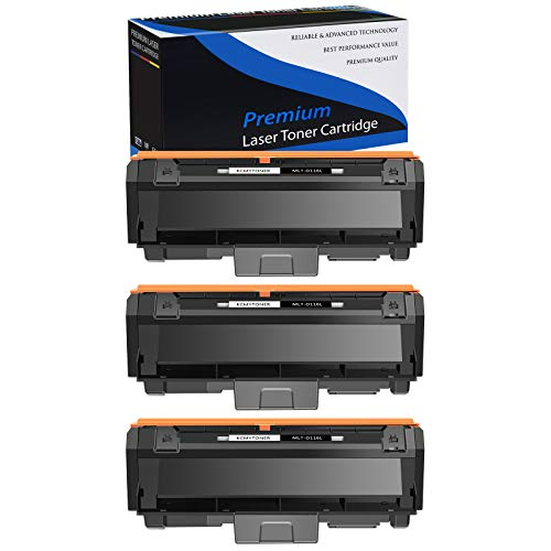 KCMYTONER 3 Packs Compatible Toner Cartridge for Samsung MLT-D116L D116L MLT-D116S 3.0K High Yield Black Use in Xpress SL-M2835DW/XAA SL-M2825DW SL-M2875FD/FW SL-M2835DW SL-M2885FW Printer