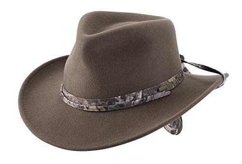 Bullhide Wyoming Mountland Collection 2 7/8' Brim Hat In Olive X-Large