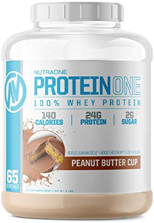 ProteinOne Low Carb Whey Protein by San Limited price sale Francisco Mall NutraOne —Weight and Bu Loss