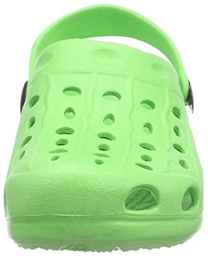 Playshoes EVA Clog, Zuecos Unisex adulto, Verde (Gruen 29), 24/25 EU